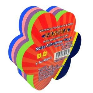 Notas adhesivas forma + FLOR