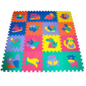 Tapetes 30x30 Fiuguras 16 piezas+1