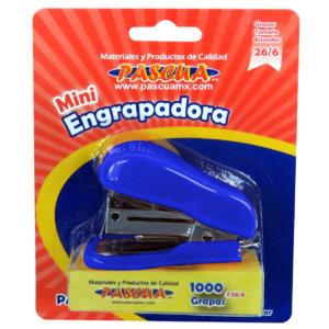 mini engrapadora azul